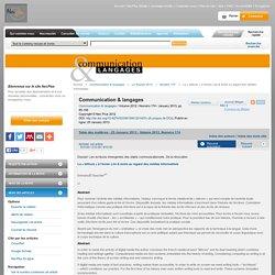 Communication & langages - Résumé - La «lettrure» à l'écran Lire & écrire au regard des médias informatisés