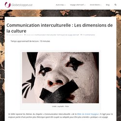 Communication interculturelle : Les dimensions de la culture - Auto-stop & voyage alternatif