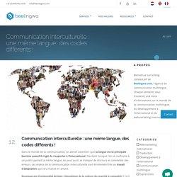 2) Communication interculturelle : des différences dans une même langue