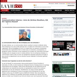 Communication interne : Avis de Jérôme Mouthon, DG de l'agence Buzzef