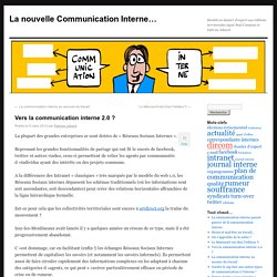 La nouvelle Communication Interne…