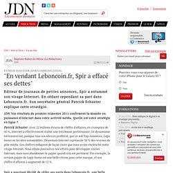 """""""En vendant Leboncoin.fr, Spir a effacé ses dettes"""""""