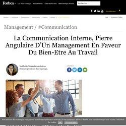 La Communication Interne, Pierre Angulaire D'Un Management En Faveur Du Bien-Etre Au Travail