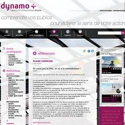 Campagne de communication globale pour la promotion du réseau des médiathèques de Plaine commune- Agence Dynamo+