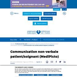 Communication non-verbale patient/soignant (MediPicto)