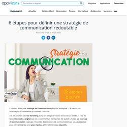 Stratégie de communication : méthodologie, exemple PDF