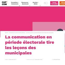 La communication en période électorale tire les leçons des municipales