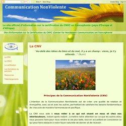Communication NonViolente - ECF: La CNV