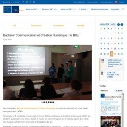 Bachelor Communication et Création Numérique : le Blitz - Institut Marc Perrot