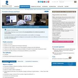 BTS Design graphique, option communication et médias numériques