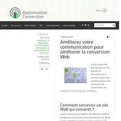 Améliorez votre communication pour améliorer la conversion Web