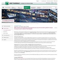 BNP Paribas est doublement récompensé pour sa communication globale marque employeur par le cabinet Potentialpark