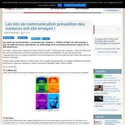 Les kits de communication prévention des surdoses ont été envoyés ! / Fédération addictions, mars 2021