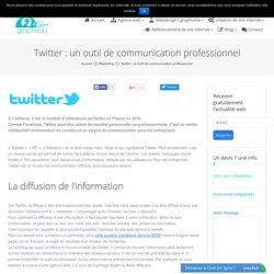 Twitter : un outil de communication professionnel