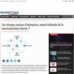 Les réseaux sociaux d'entreprise, nouvel eldorado de la communication interne?