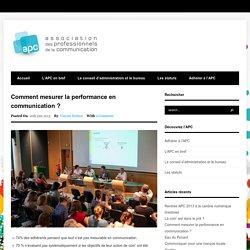 APC 29 – Association des Professionnels de la Communication
