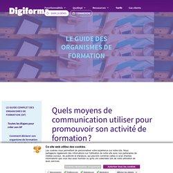 Quels moyens de communication utiliser pour promouvoir son activité de formation? - Digiforma