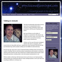 Animal Communication, pet psychic Jason Wickens