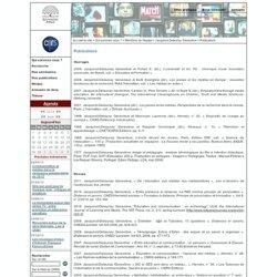 Communication et Politique - Publications
