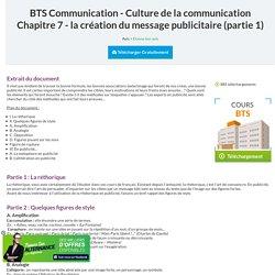 Cours communication : la création du message publicitaire