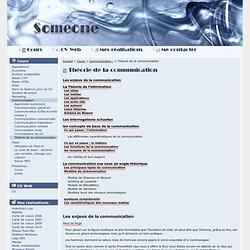 Communication: - Théorie de la communication - Florian Casset - cours gratuits - Blog - CV - réalisations personelles...