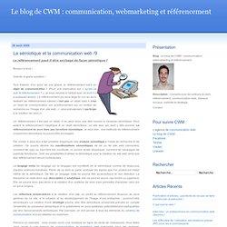 La sémiotique et la communication web /9