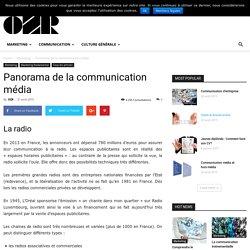 Panorama de la communication média - OZ RESSOURCES