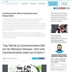 Communication RSE et Communication Responsable