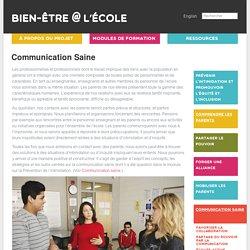 Communication Saine
