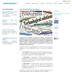 Titres et communication scientifique