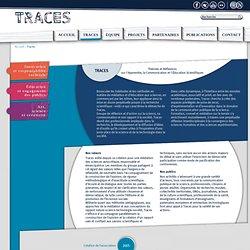 Théories et Réflexions sur l'Apprendre, la Communication et l'Éducation Scientifiques > Traces