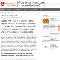 Agence de communication avec une spécialité agricole