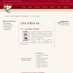 N°1 : le journal interne - Agence de communication, conseil & stratégie