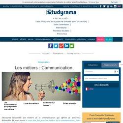 Fiches Métiers : Communication - Studyrama.com