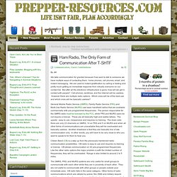 Prepper-Resources.com - The Ultimate Prepper & Survivalist Blog.