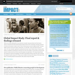 The Global Impact Study | Does public access to information and communication technologies matter?