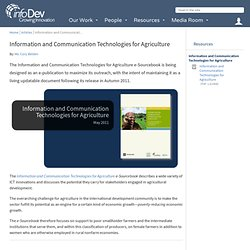 Information and Communication Technologies for Agriculture