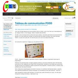 Tableau de communication PODD