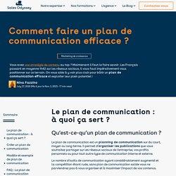 Le guide du plan de communication : exemples et templates !