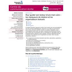 Centre de communication écrite - Université de Montréal