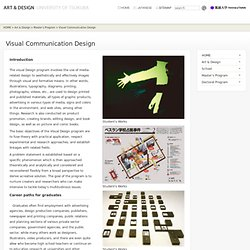Visual Communication Design : Art & Design, Univertisy of Tsukuba