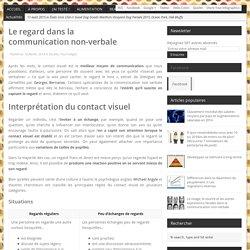 Le regard dans la communication non-verbale – OneDeSe