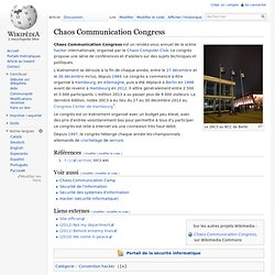 Chaos Communication Congress