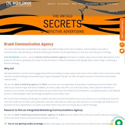 Creative Brand Communication - CHL Worldwide