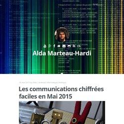 Les communications chiffrées faciles en Mai 2015