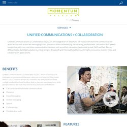 Unified Communications + Collaboration