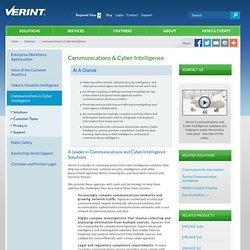 Communications & Cyber Intelligence