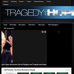 Tragedy and Hope Communications - A Team of Independent Media Producers with OVER 25 MILLION downloads!