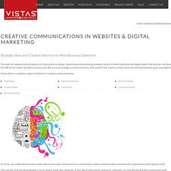Creative Communications in Websites & Digital Marketing