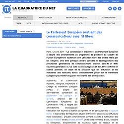 Le Parlement Européen soutient des communications sans-fil libres